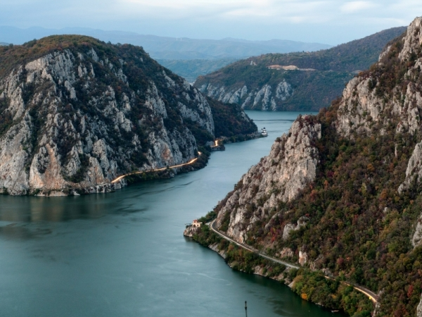Cruising the Iron Gates (DJERDAP GORGE (IRON GATES)  LEPENSKI VIR, GOLUBAC, DANUBE, DONJI MILANOVAC)